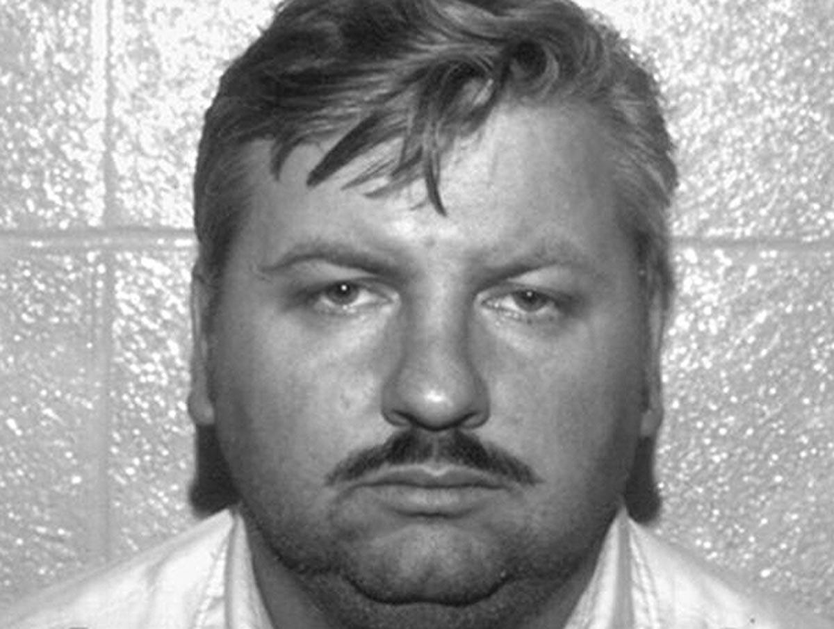 John Wayne Gacy: Mugshot from Police Dept. Des Plaines, Illinois
