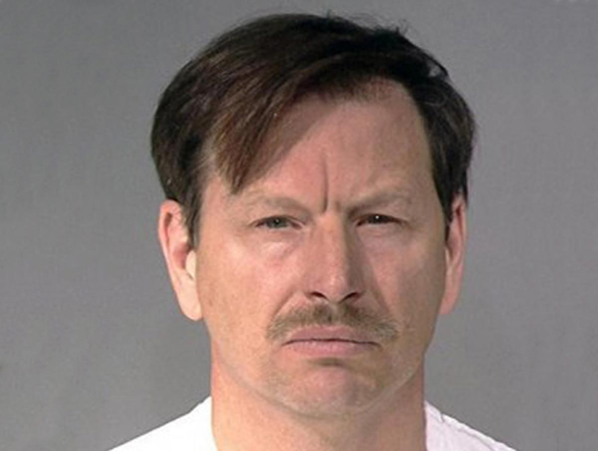 Mugshot by Gary Ridgway, who has at least 71 women on his conscience.