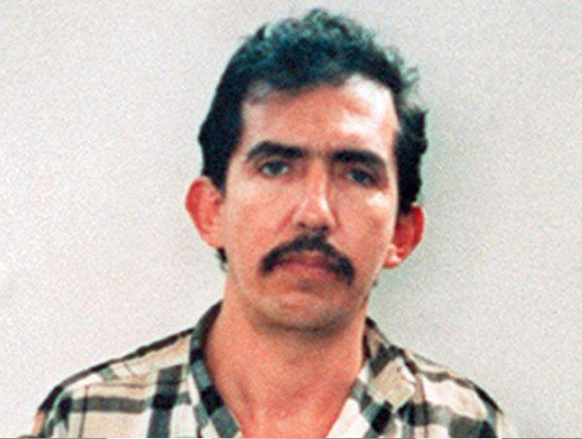 Serial killer Luis Garavito after his arrest in 1999