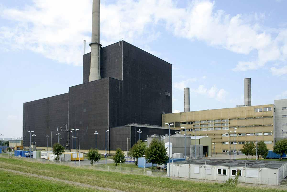 Der Reaktor KKB Brunsbüttel nahm 1977 seinen Betrieb auf.