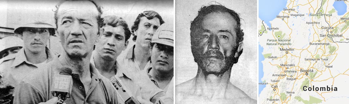 Daniel Barbosa, the sadist from Chanquito: Mugshot of the serial killer from Colombia.