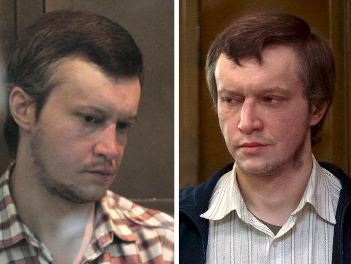 Mugshot von Alexander Pichushkin, dem Schachbrettmörder. Seit 2006 sitzt er in lebenslanger Haft.