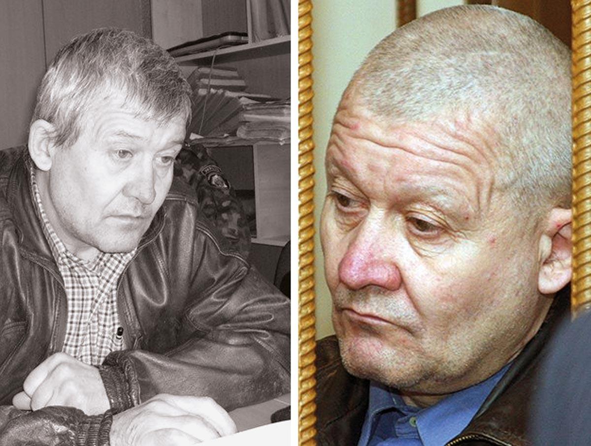 Serhiy Tkach, former police officer and multiple serial killer.