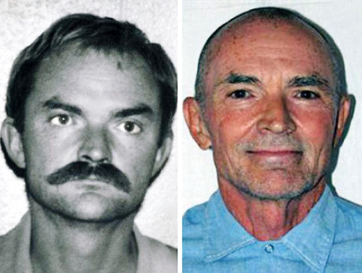 Mugshot by Randy Steven Kraft, the serial killer convicted of 16 murders.