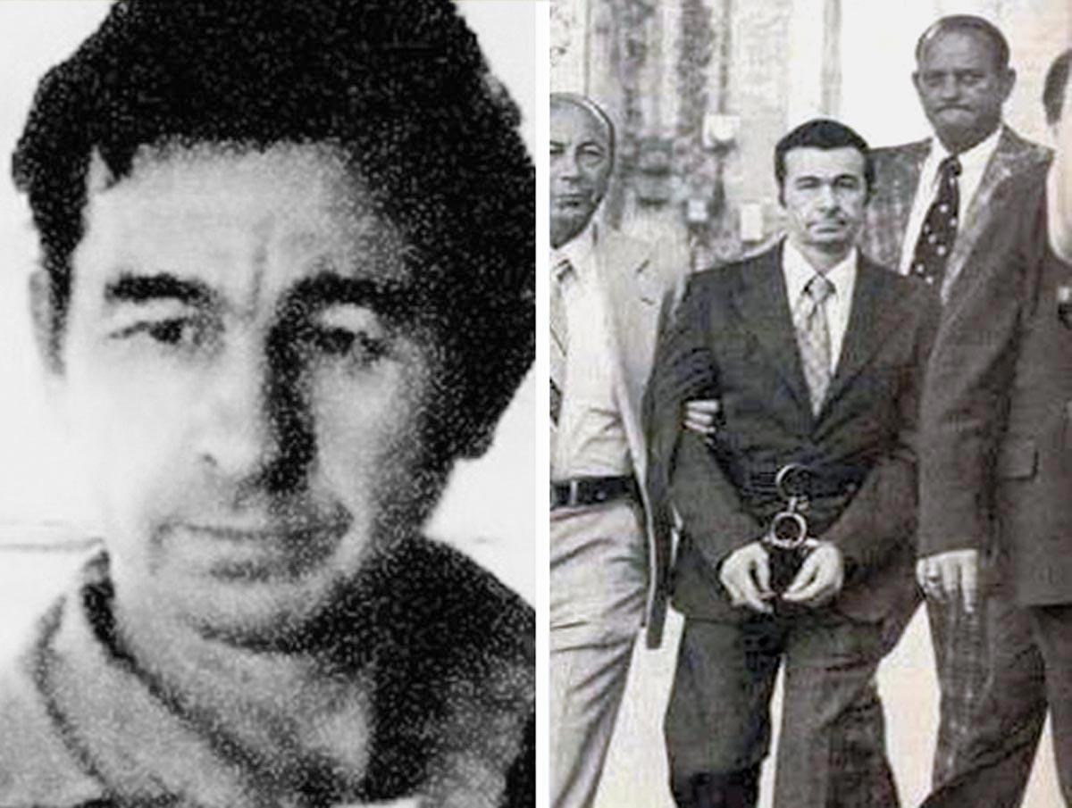Donald Henry Gaskins, mehrfacher Serienmörder aus den USA, am Tag seiner Festnahme