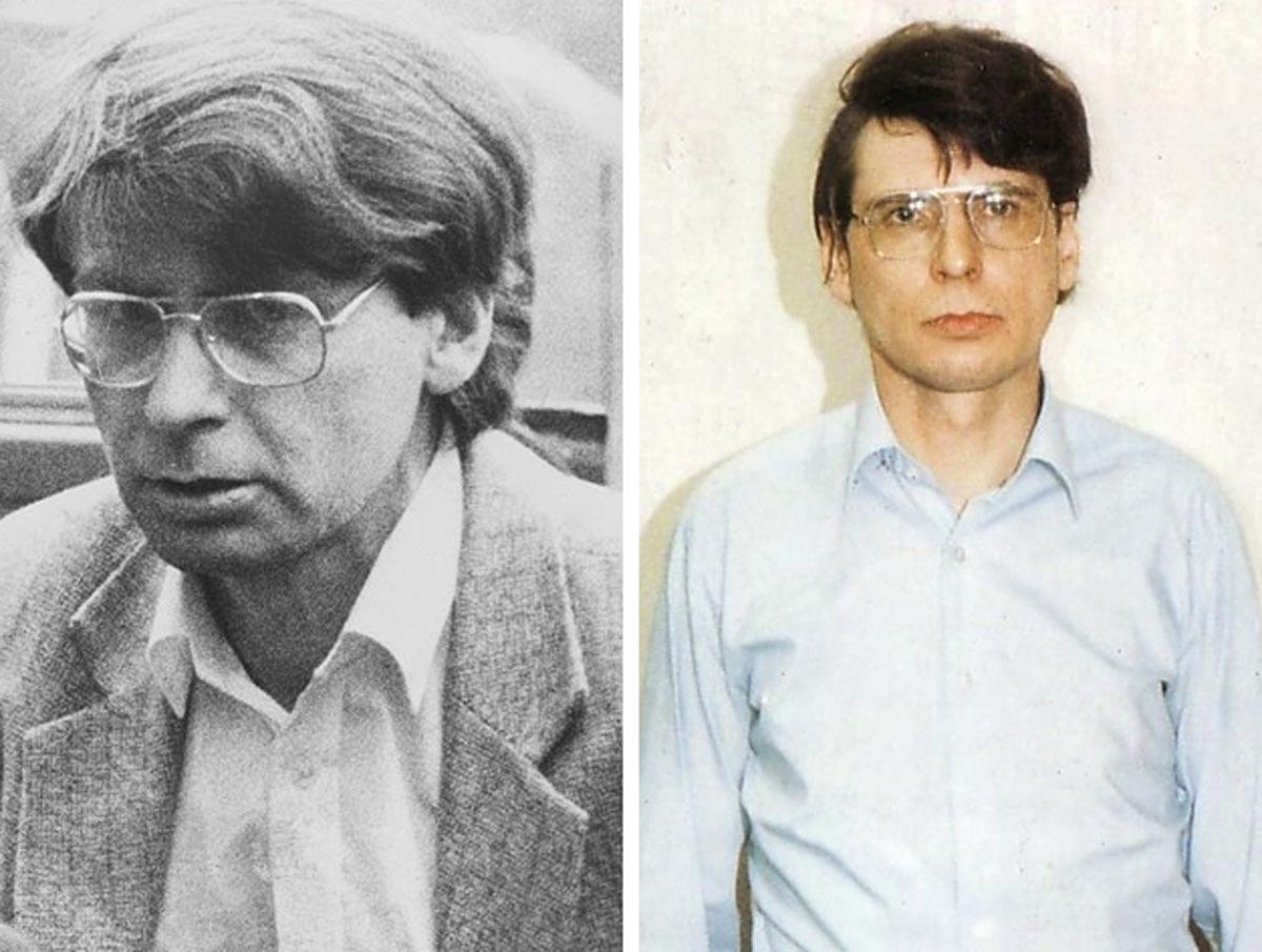 Mugshot von Dennis Nilsen, dem britischen Jeffrey Dahmer