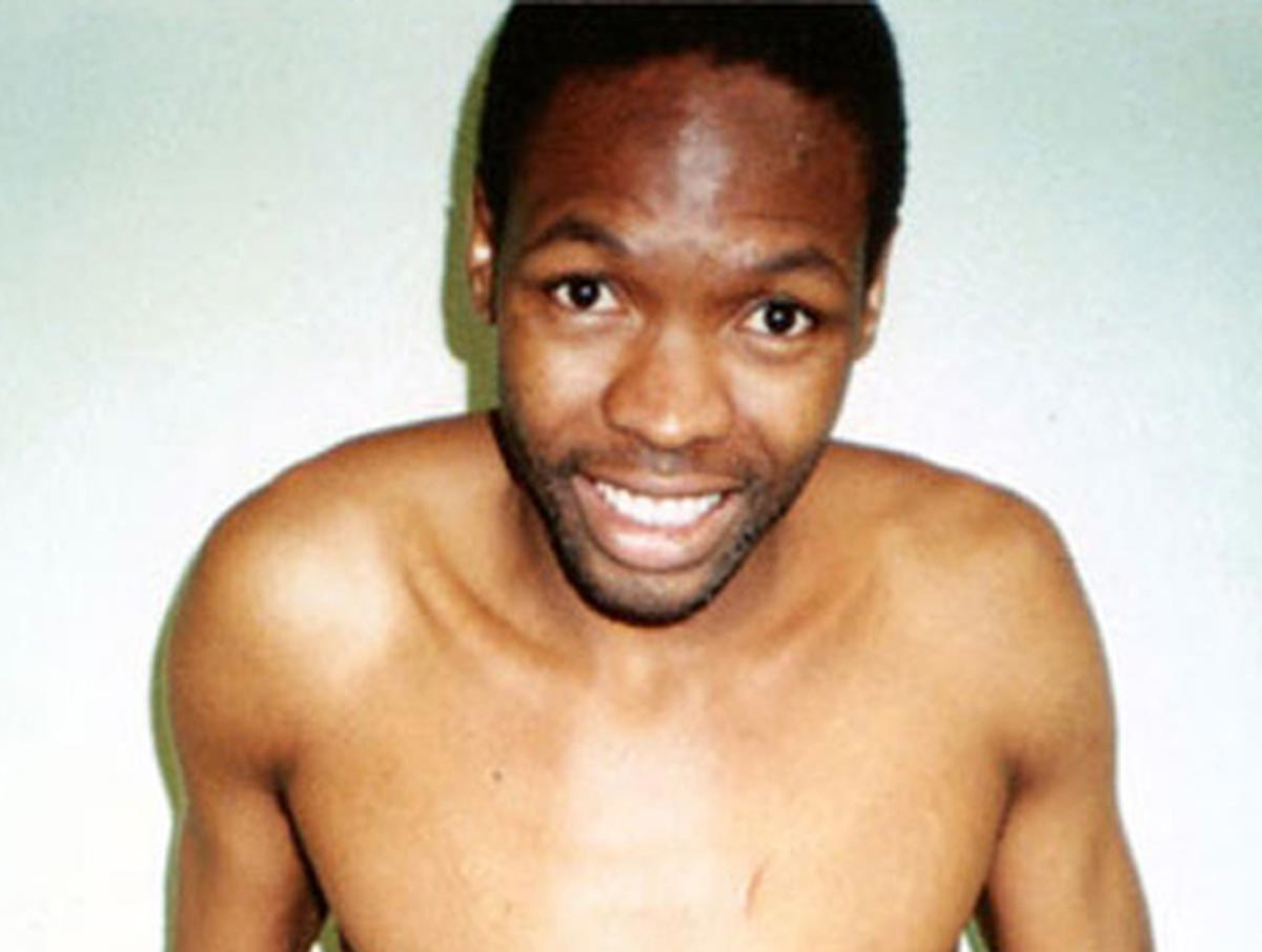 Mugshot of Moses Sithole, 38-time serial killer from South Africa