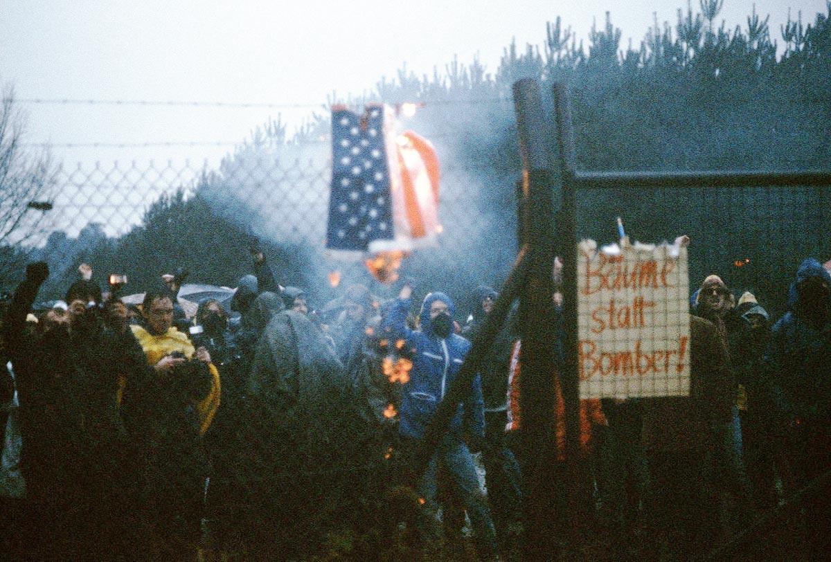 Proteste gegen den NATO-Gipfel in Bonn 1982