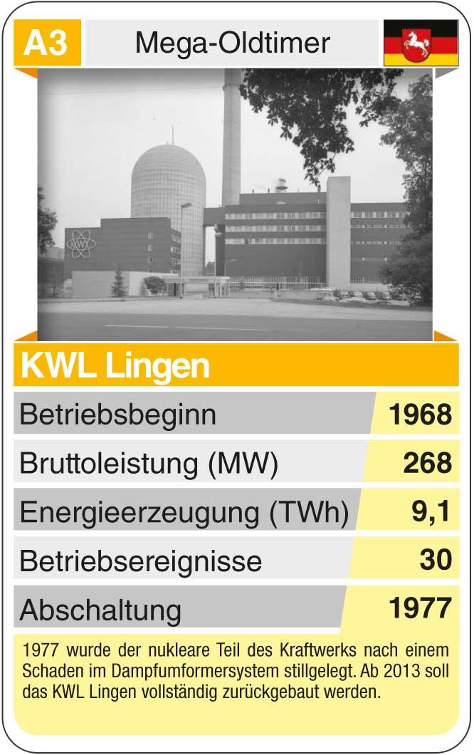 Spielkarte A3: KWL Lingen (* 1968 – † 1977)