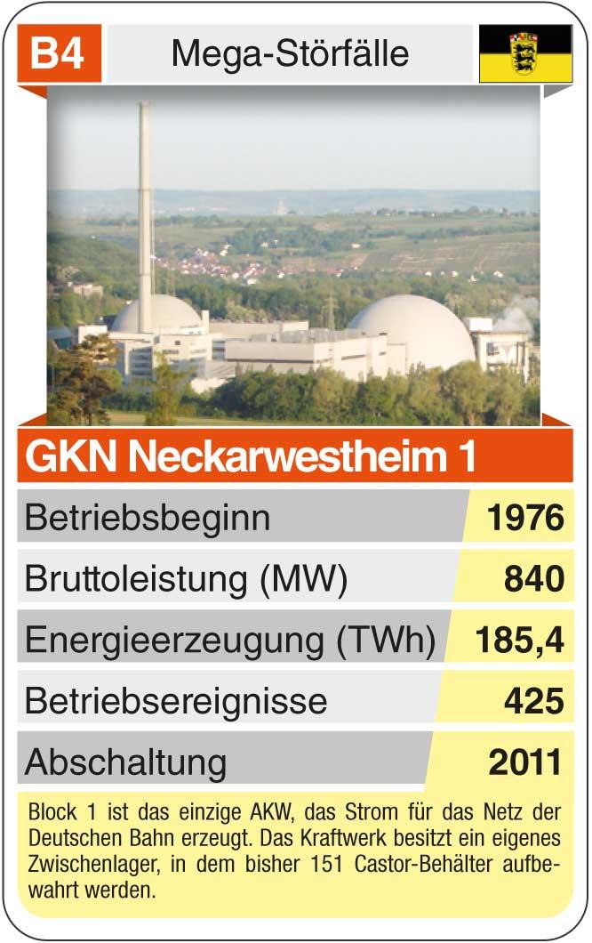 Spielkarte B4: GKN Neckarwestheim (* 1976 – heute)
