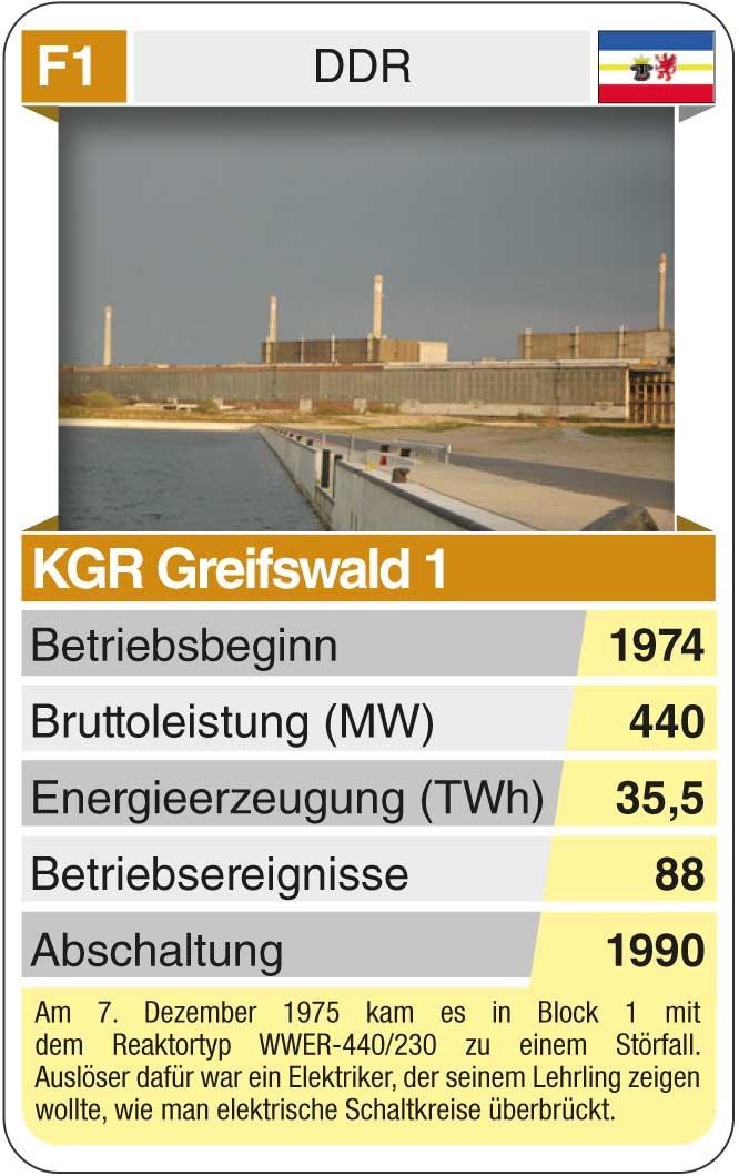 Spielkarte F1: KGR Greifswald (* 1974 – † 1990)