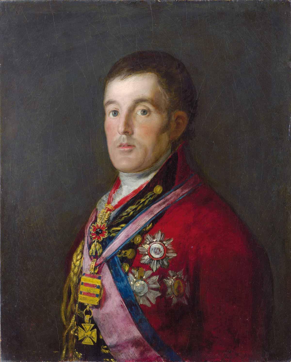Gestohlenes Gemälde von Goya: Herzog von Wellington (1814)
