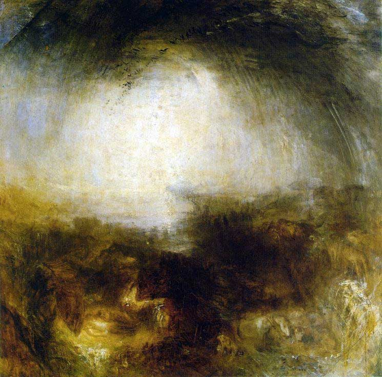 Stolen painting: J. M. W. Turner: Shadows and Darkness (1843)