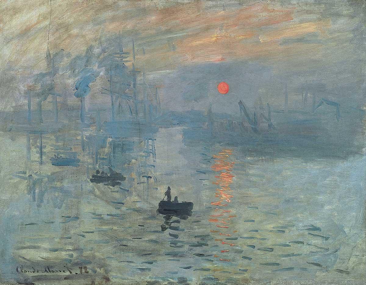 Gestohlenes Gemälde: Claude Monet: Impression, Sonnenaufgang (1872)