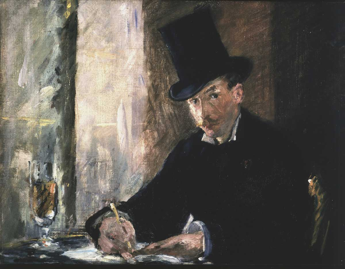 Gestohlenes Gemälde von Èdouard Manet: Chez Tortoni (1880)