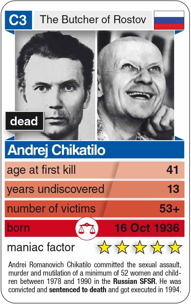 Berühmte Serienmörder