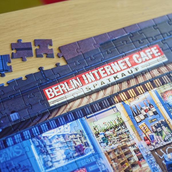 Puzzle Berliner Spätis