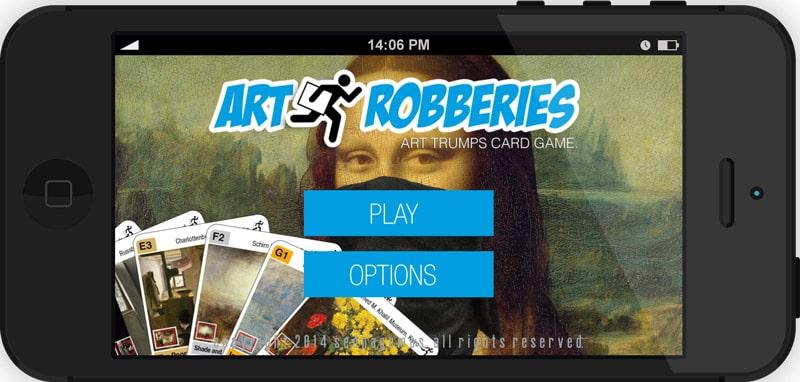 Famous Art Robberies - Kulturmeister Apps