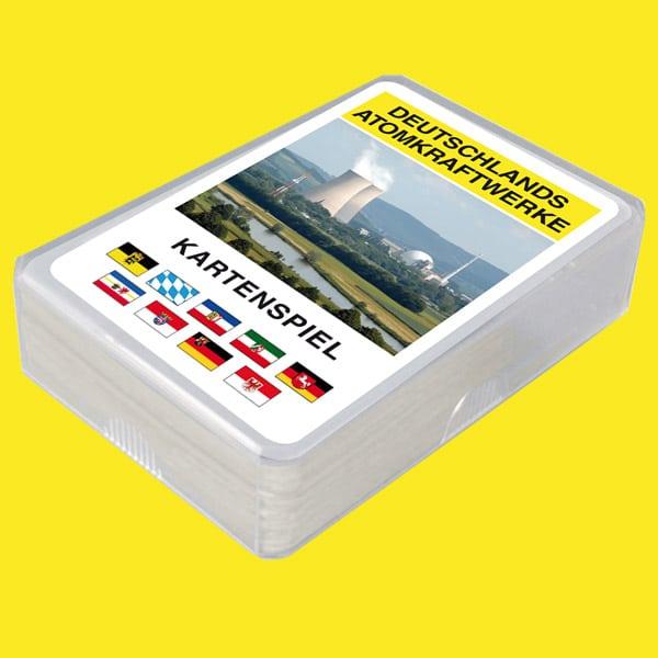Kuturmeister Kartenspiele Deutschlands Atomkraftwerke