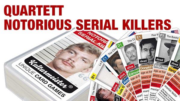 Quartettspiel Notorious Serial Killers jetzt bestellen